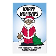 Brotha Claus Postcards (Package of 8)