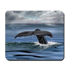 Whale Tail Fluke Mousepad