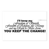 Keep the Change! Postcards (Package of 8)
