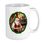 Santa's Welsh T Large Mug
