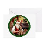 Santa's Welsh T Greeting Cards (Pk of 10)
