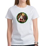 Santa's Welsh T Women's T-Shirt