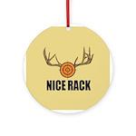 Nice Rack Ornament (Round)
