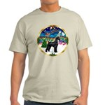 XmasMusic 2MC/Lab Pup (blk) Light T-Shirt