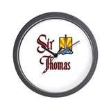 Sir Thomas Wall Clock