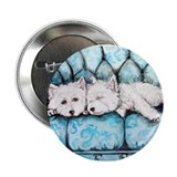 "Westie Couch Potatoes 2.25"" Button (10 pack)"