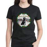 XmasMusic2/Lab (black) Women's Dark T-Shirt