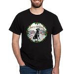 XmasMusic2/Lab (black) Dark T-Shirt