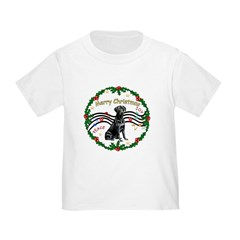 XmasMusic2/Lab (black) Toddler T-Shirt