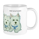 Five Westies Taza