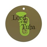 Lord of the Tuba Ornament (Round)