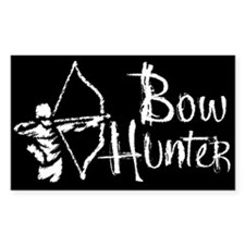 Bow Hunter Rectangle Bumper Stickers