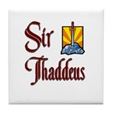 Sir Thaddeus Tile Coaster