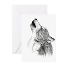 Howl Greeting Cards (Pk of 10)