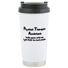 Don't Mess With PTAs Ceramic Travel Mug