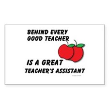 Great Teacher's Assistant Decal
