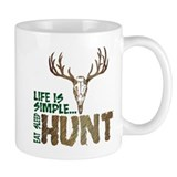 Eat Sleep Hunt  Tasse