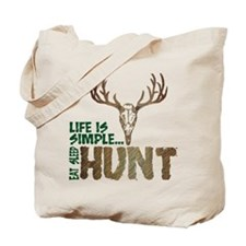 Eat Sleep Hunt Tote Bag
