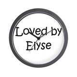 Funny Elyse Wall Clock