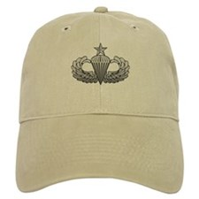 Senior Airborne Wings Baseball Cap