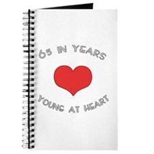 65 Young At Heart Birthday Journal