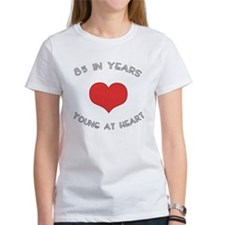 85 Young At Heart Birthday Tee
