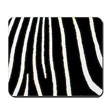 Zebra Print Mousepad