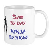 Sam - Ninja by Night Mug