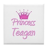 Princess Teagan Tile Coaster
