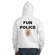 Fun Police Officer Hoodie Sweatshirt