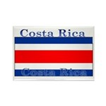 Costa Rica Costa Rican Flag Rectangle Magnet (10 p