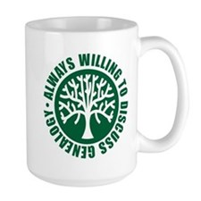 Always Willing Mug