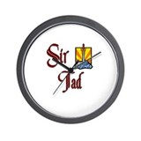 Sir Tad Wall Clock