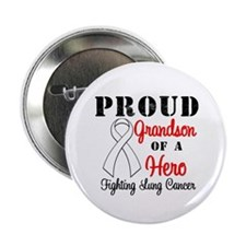"ProudGrandsonLungCancer Hero 2.25"" Button"