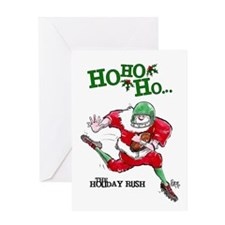 Football Mojo Holiday Greeting Card