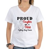 ProudDaughterLungCancer Hero Shirt