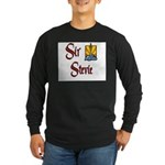 Sir Stevie Long Sleeve Dark T-Shirt
