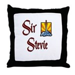 Sir Stevie Throw Pillow