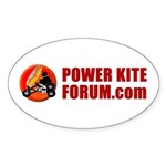 PKF Oval Sticker (10 pk)