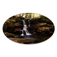 Seneca Creek Falls Oval Decal