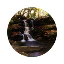 Seneca Creek Falls Ornament (Round)