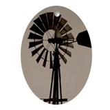Windmill Oval Ornament