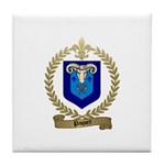 PAQUET Family Crest Tile Coaster