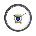 PAQUET Family Crest Wall Clock