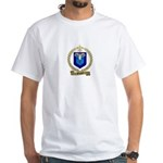 PAQUET Family Crest White T-Shirt