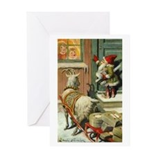 Tomte_3_10x14t Greeting Cards