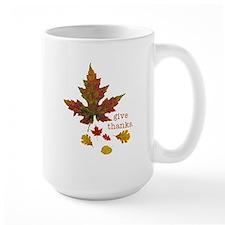 Pretty Thanksgiving Mug