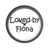 Fiona Wall Clock
