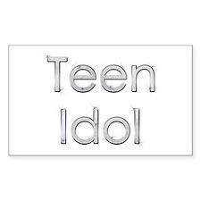 Teen Idol Rectangle Decal