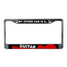 Car/Guitar License Plate Frame